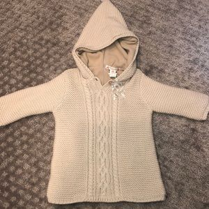 Bonpoint baby sweater 12 months 🍒 NEW!